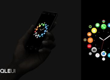 國外設計師替iOS 11推出結合watchOS概念影片Cirqle UI
