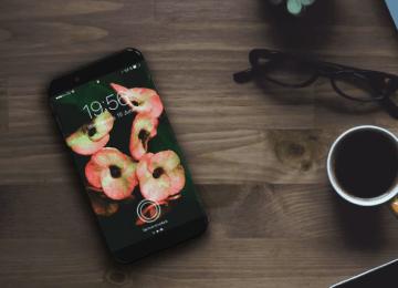 iPhone 8 概念:曲線螢幕結合虛擬HOME鍵設計、不鏽鋼金屬外框