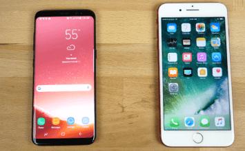 三星新機照電!iPhone 7 Plus 運行速度玩爆 Galaxy S8