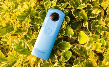 [開箱]RICOH THETA SC 改變攝影角度:360度雙鏡頭環景神器問世