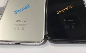 即將發表的iPhone 7s、7s Plus 與 iPhone 8 模型機搶先曝光細節
