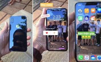 iPhone X 兩款實機提早現身網路!出現新的動態背景