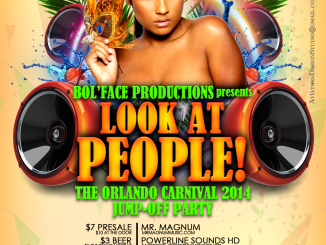Bol Face Productions Presents Look At People Featuring Mr. Magnum