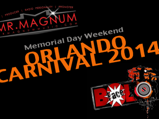 Mr. Magnum DJing In Orlando for Carnival 2014
