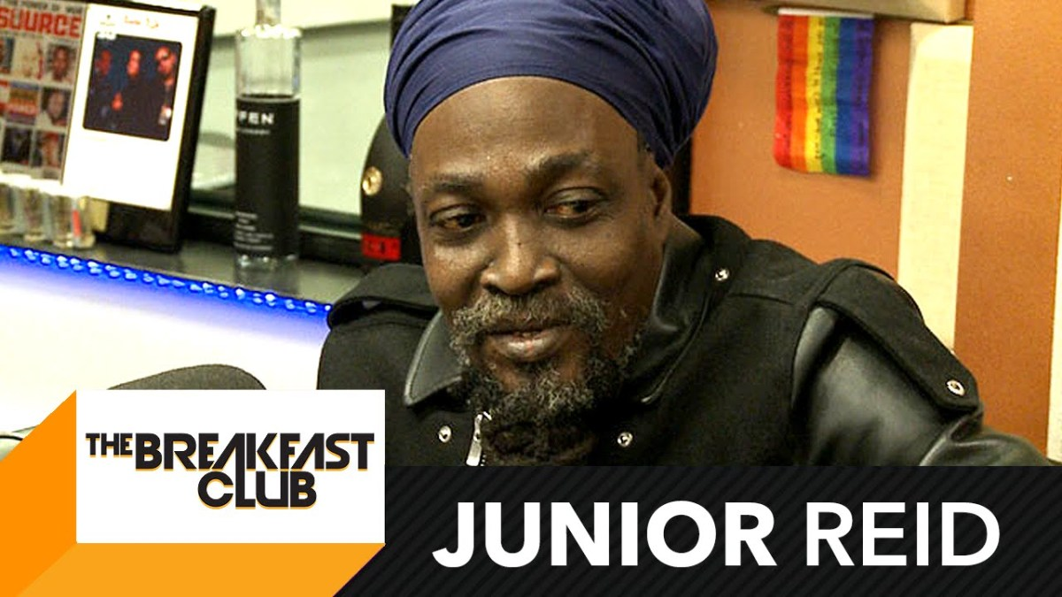 Junior Reid Interview at The Breakfast Club