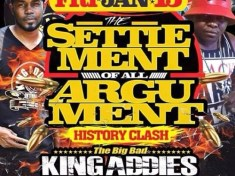 King Addies V Soul Supreme Clash Flyer