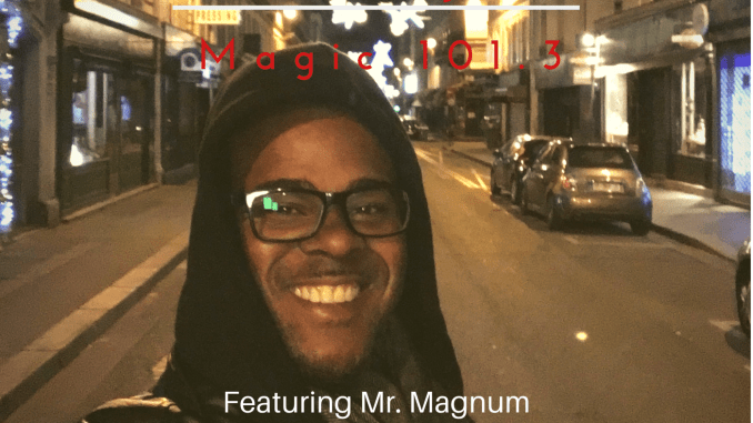 Mr. Magnum DJ's on Gainesville's Magic 101.3. If you missed today's mix. Definitely check it out. #MagnumRadio