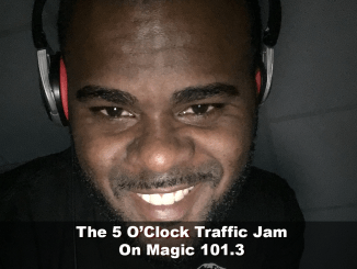 The 5 O'Clock Traffic Jam 20171115 featuring Gainesville's #1 DJ, Mr. Magnum on Magic 101.3
