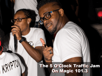 The 5 O'Clock Traffic Jam 20180525 featuring Gainesville's #1 DJ, Mr. Magnum on Magic 101.3