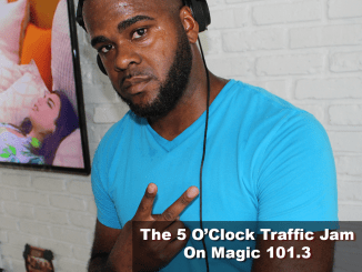 The 5 O'Clock Traffic Jam 20180720 featuring Gainesville's #1 DJ, Mr. Magnum on Magic 101.3