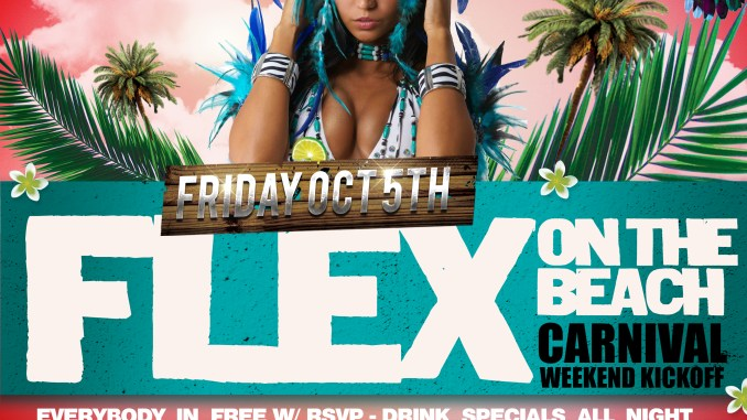 Flex On The Beach: Carnival Weekend Kickoff - First Fridays w/ Mari G & Mr. Magnum