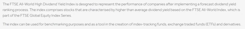 VIG vs VYM: FTSE Index Explanation