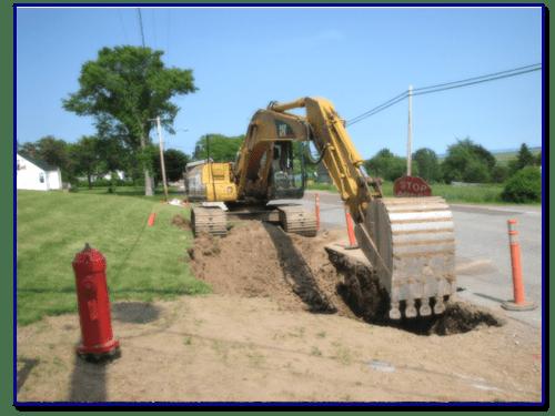 Excavation and Civil