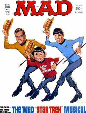 Mad Magazine's Star Trek musical parody