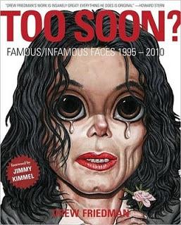 Too Soon?, cartoonist, Drew Friedman, Mr. Media Interviews