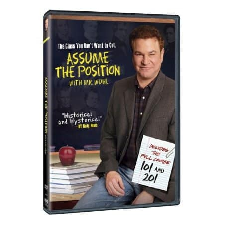 Assume the Position with Mr. Wuhl starring Robert Wuhl, Mr. Media Interviews