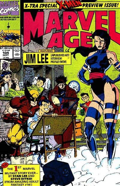 Marvel Age, Jim Lee, Mr. Media Interviews