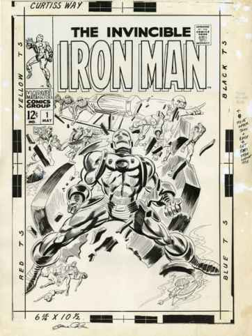 Gene Colan, Iron Man 1, Marvel Comics, Mr. Media interview, David Mandel Collection