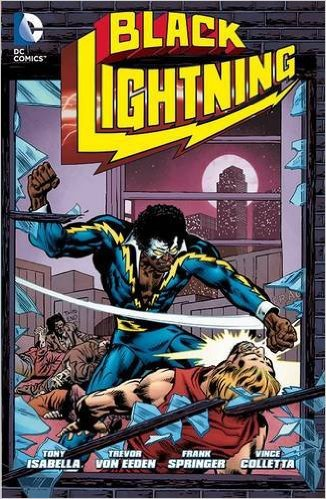 Black Lightning Vol. 1 created and written by Tony Isabella, DC Comics, Mr. Media Interviews
