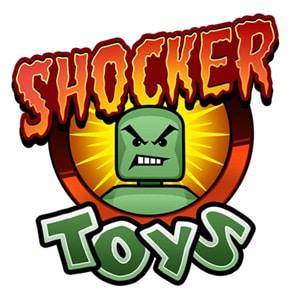 Shocker Toys logo, Geoff Beckett Jr., Mr. Media Interviews