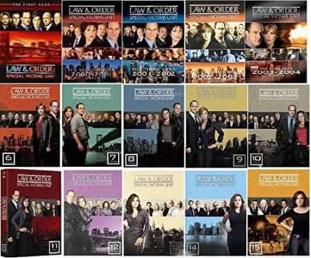 Law & Order SVU Ultimate Collection Seasons 1-15, Mariska Hargitay, Christopher Meloni , Mr. Media Interviews
