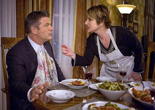 "30 Rock - Season 3 - ""Goodbye, My Friend"" - Alec Baldwin as Jack and Patti LuPone as SylviaPhoto by: Jessica Miglio/NBC, Mr. Media Interviews"