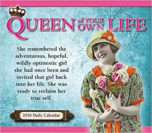 Queen of Your Own Life 2016 Boxed/Daily Calendar, Mr. Media Interviews