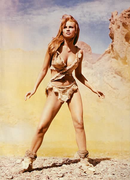Raquel Welch as Loana, One Million Years B.C., Mr. Media Interviews