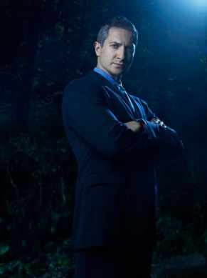 Sasha Roiz stars on NBC's 'Grimm' as Captain Renard