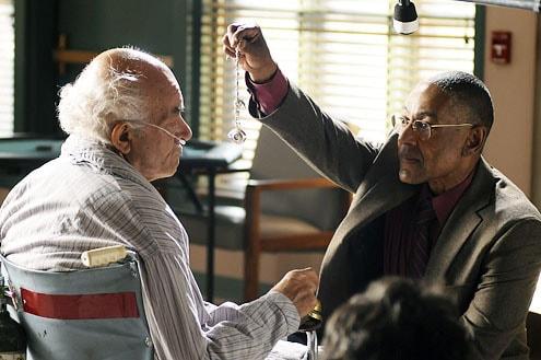 Mark Margolis, left, Giancarlo Esposito, in AMC's Breaking Bad