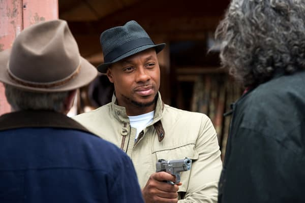 "HAVEN -- ""Magic Hour Part Two"" -- Pictured: Dorian Missick as Tommy Bowen -- (Photo by: Michael Tompkins/Syfy)"