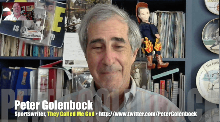 Peter Golenbock, Doug Harvey, They Called Me God, MLB umpire, Mr. Media Interviews