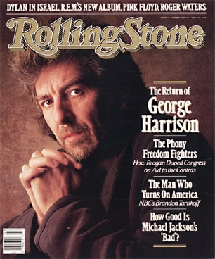 Rolling Stone magazine, George Harrison interview by Anthony DeCurtis, Mr. Media Interviews