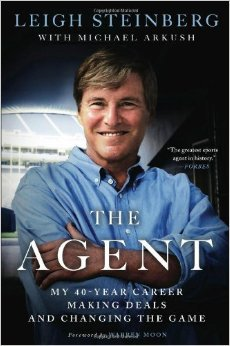 Leigh Steinberg, The Agent: My 40-Year Career Making Deals and Changing the Game, sports agent, Mr. Media Interviews