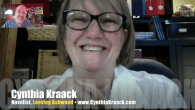 Today's Guest: Cynthia Kraack, speculative fiction author, Ashwood trilogy: Ashwood, Harvesting Ashwood and Leaving Ashwood.     Watch this exclusive Mr. Media interview with speculative fiction novelist Cynthia Kraack, author of […]
