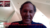 "Today's Guest: Spencer Quinn, novelist, ""Chet the Dog"" mystery novel series, Paw and Order, Dog On It, The Dog Who Knew Too Much, A Cat Was Involved   Watch this exclusive Mr...."