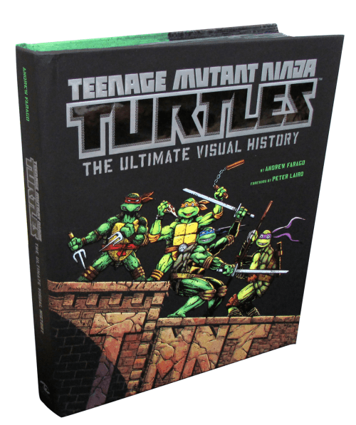Teenage Mutant Ninja Turtles: The Ultimate Visual History by Andrew Farago, Mr. Media Interviews