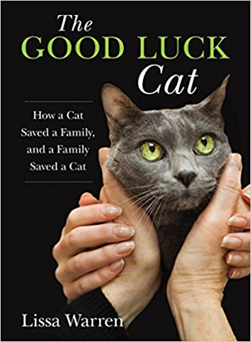 The Good Luck Cat: How a Cat Saved a Family, and a Family Saved a Cat by Lissa Warren, Mr. Media Interviews