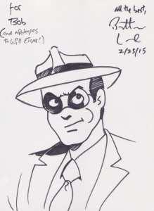 Will Eisner's The Spirit drawn by Batton Lash, Mr. Media Interviews