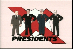 SNL's 'The X-Presidents' by J.J. Sedelmaier and Robert Smigel, Mr. Media Interviews
