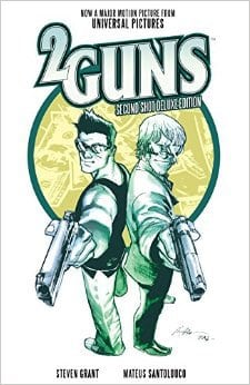 2 Guns comic book created by Steven Grant, Mr. Media Interviews