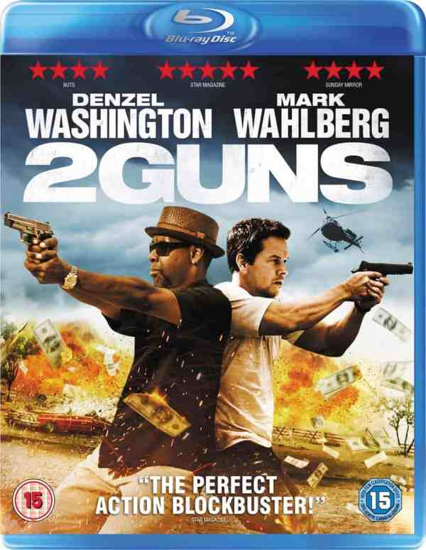 2 Guns starring Denzel Washington, Mark Wahlberg, based on the comic book created by Steven Grant, Mr. Media Interviews