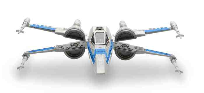 X-Wing Fighter with lights and sounds scale model from Star Wars: Episode VII The Force Awakens by Revell, Mr. Media Interviews