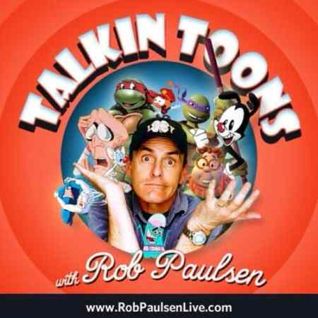 "Voice actor Rob Paulsen, host of the ""Talkin' Tunes' podcast, Mr. Media Interviews"