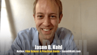 Today's Guest: Jason B. Kohl, film director and author of Film School: A Practical Guide to an Impractical Decision.   Watch this exclusive Mr. Media interview with JASON B. KOHL...