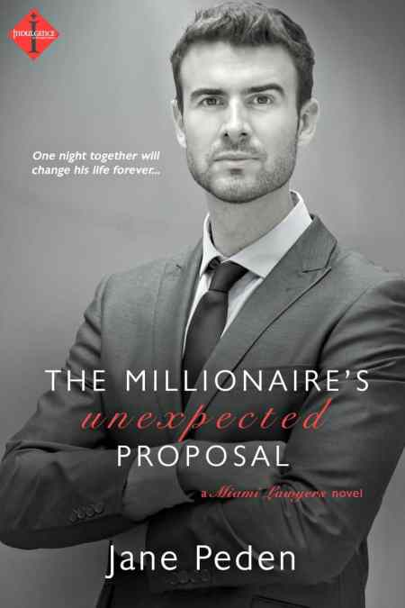 The Millionaire's Unexpected Proposal by Jane Peden, Mr. Media Interviews