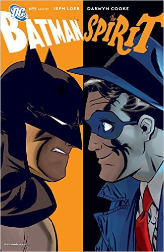 Batman/The Spirit (2006-) #1 by DArwyn Cooke, Mr. Media Interviews