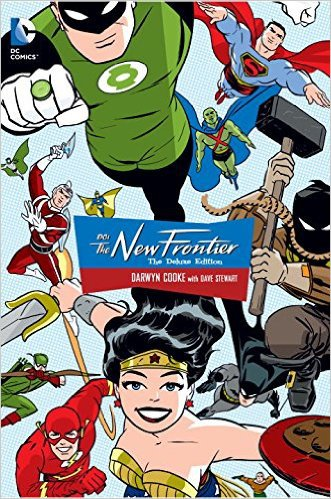 DC: The New Frontier Deluxe Edition by Darwyn Cooke, Mr. Media Interviews