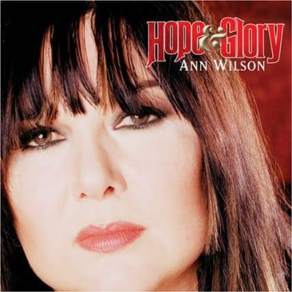 Hope & Glory by Ann Wilson of Heart, Mr. Media Interviews