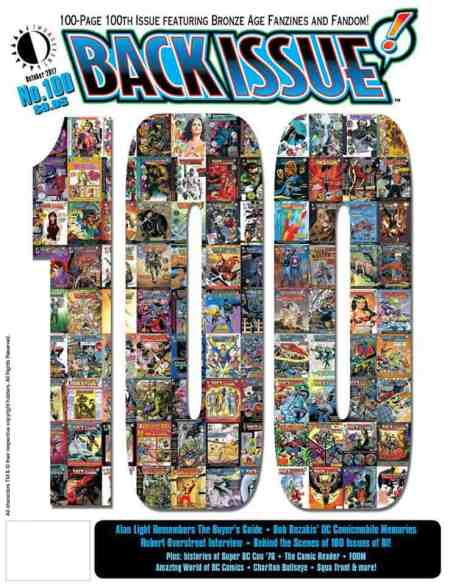 Back Issue Magazine, 100th issue, Michael Eury, editor, Mr. Media Interviews